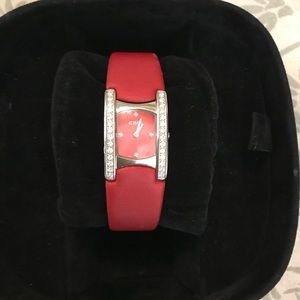 Women's red ebel beluga watch-MUST SELL!